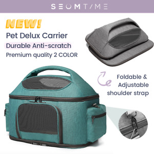 Soft Portable Pet Carrier Dog Cat Travel Cage Foldable Airline Strap Bag Kennel