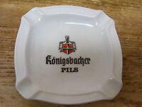 Konigsbacher PILS Pilsener Beer Ashtray Ash Tray German Rastal Gren Zhausen