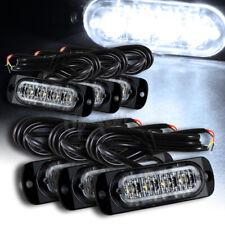 Universal 24 LED White Car Truck Emergency Beacon Warn Hazard Flash Strobe Light
