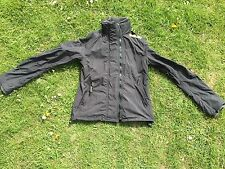 Superdry men's Windcheater jacket coat in black - medium size