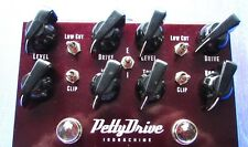 Replacement Knobs For Pettyjohn Pettydrive Chime, Iron & Gold Overdrive Pedal
