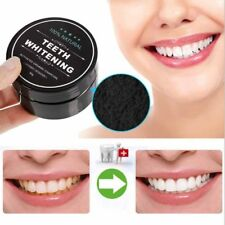 100% Organic Natural Teeth Whitening Black Activated Powder Coconut Charcoal
