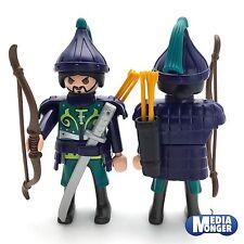 playmobil figurine: samouraï Mongole Asiatique Guerrier Chevalier Archer
