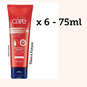 AVON Care 6x CONCENTRATED BALM Hand Cream 75ml BUNDLE