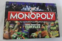 MONOPOLY TEENAGE MUTANT NINJA TURTLES BOARD GAME 98% Complete