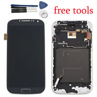 Full LCD Display Touch Screen Digitizer +Frame for Samsung Galaxy S4 i9500 i9505