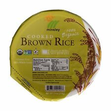 Minsley Cooked Brown Rice Bowl Organic Reday in 90 sec.Microwav... Free Shipping