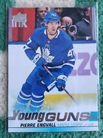 19-20 UPPER DECK YOUNG GUNS PIERRE ENGVALL #475 TORONTO MAPLE LEAFS Series 2