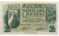 Spain-GUERRA CIVIL. Billete. 25 centimos 1937. Moncada i Rexac. SC-/UNC-. Escaso