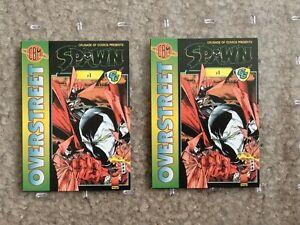 Crusade of Comics Presents Spawn #1 - Overstreet CBM Give Away Trading Card