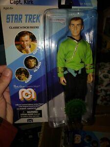 Mego! Capt. Kirk Star Trek 8 inch Action Figure Limited Edition