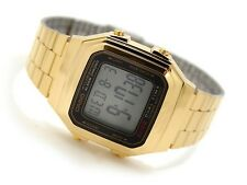 A-178WGA-1A Gold Casio Original Watch Retro Vintage STEEL Digital Brand-New
