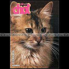 ATOUT CHAT N°11 ★ RACE : LE SOMALI ★ LION ★ TELECHATS ★ JACQUES ROULAND 1986