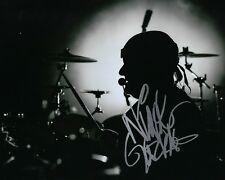 GFA Saxon Band Drummer * NIGEL GLOCKLER * Signed Autographed 8x10 Photo N4 COA