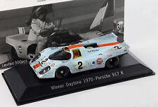 PORSCHE 917k #2 24h Winner Daytona 1970 Dirty Version 1:43 SPARK