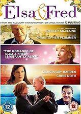 Elsa & Fred  Shirley MacLaine, Christopher Plummer NEW AND SEALED UK R2 DVD