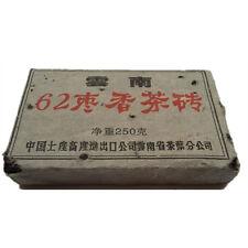 1962 Year 250g Chinese Yunnan Puer Tea Brick Ancient Tree Pu-erh Tea Gift Witty