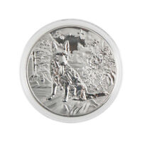 year of the dog silver chinese  2018 anniversary coins souvenir coin new PT