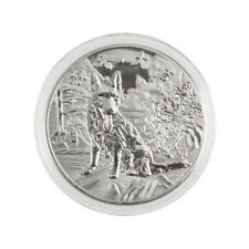 year of the dog silver chinese  2018 anniversary coins souvenir coin 、New