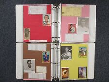 Cubs (2  Notebooks/202 Pages/100  Autographs/270 Players/Many  Obits/RON  SANTO)