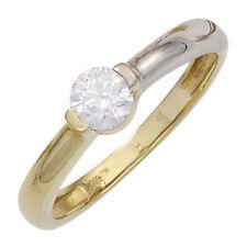 Echtschmuck-Ringe aus mehrfarbigem Gold für Damen (16,5 mm) Ø 52