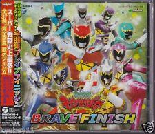 New Zyuden Sentai Kyoryuger Zenkyoku Shu Brave Finish CD Japan COCX-38398