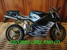 MOTO 1/18 DUCATI  916 BIPOSTO NOIRE FLAMMES  2002  HOT WHEELS