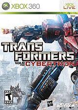Transformers: War for Cybertron (Microsoft Xbox 360, 2010)