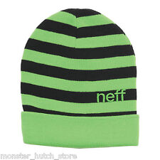 NEU mit Etiketten Neff Summen Mütze grün Limited Release SELTEN