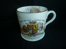 Queen Victoria Diamond Jubilee Mug 1897 Royalty Foley China Antique