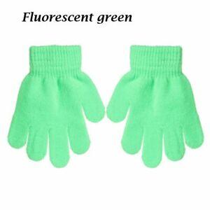 Hot Boy Girl Warm Kids Knitted Children Stretch Glove