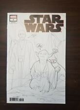 STAR WARS #1 (2020) PARTY SKETCH VARIANT 1 PER STORE MARVEL (NM)