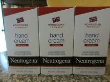 Lot of 3 Neutrogena Norwegian Formula Original Hand Cream 2 oz