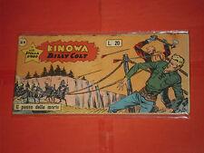 KINOWA STRISCIA DARDO III°-3 °SERIE N° 21-L 3-BILLY COLT-ALBI STELLA D'ORO 1959