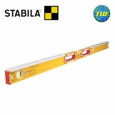 Stabila 196-2-K Masons 3 Vial Plastic Shields Spirit Level 120cm/48in 16406