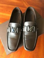 Louis Vuitton MONTE CARLO CAR SHOE, Brown, Made In Italy, Size 8.5/US 9.5