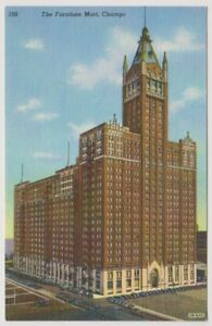 USA postcard - The Furniture Mart, Chicago (A71)