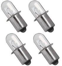 Porter Cable 18 Volt Flashlight Replacement Xenon Bulb PC180FL 18V 4-Pack