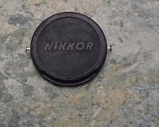 Genuine Nikon Nippon Kogaku Japan 52mm Clip-On Front Lens Cap JUM515897 (#1716)