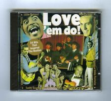 CD (NEW) LOVE EM DO 24 HITS THAT INSPIRED THE BEATLES (C.BERRY C.PERKINS )