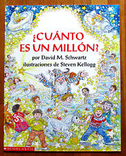 HOW MUCH IS A MILLION? in SPANISH Teacher Big Book Schwartz & Kellogg L2