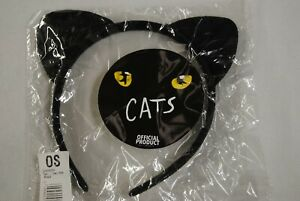 CATS THE MUSICAL BLACK EARS HEADBAND HAIRBAND NEW OFFICIAL AS SOLD AT SHOWS