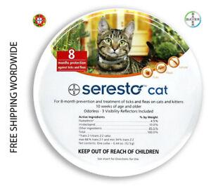 Serest o collar cat - B A Y E R SEREST O COLLAR FOR CATS
