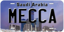 Mecca Saudi Arabia Aluminum Novelty Car Tag License Plate P01