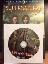 Supernatural - Season 9, Disc 3 REPLACEMENT DISC (not full season)