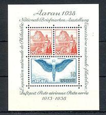 SWITZERLAND 1938    MI# BL.4    CV € 75    ** MNH   VF