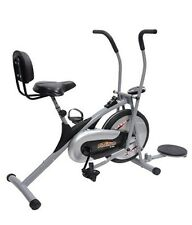 DEEMARK AIR BIKE PLATINUM DX WITH TWISTER - WORKOUT IN THE COMFORT OF YOUR HOME.