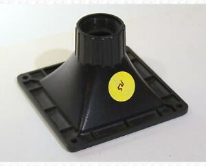 Plastic Speaker Horn Lens With Threads 4.5 X 4.5 Inch