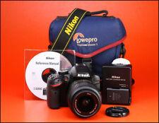 Cámara SLR Nikon D3200 D + Nikon AF-S 18-55mm VR zoom kit de lente + video HD de 1080p
