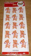 Hallmark Stickeroni Valentine's Day Stickers Cupid Bear Love Free Ship Over $15